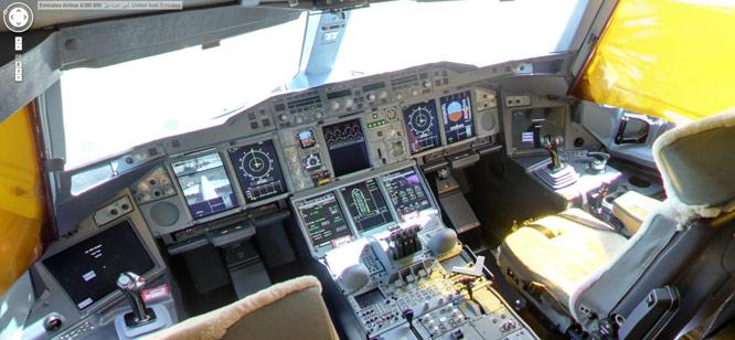 Visite virtuelle A380